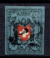 Suisse YT N° 14 Oblitéré. Premier Choix. A Saisir! - 1843-1852 Timbres Cantonaux Et  Fédéraux