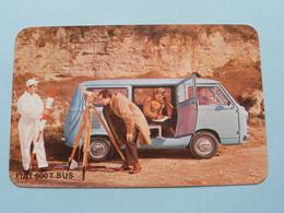 FIAT 600 T BUS ( Editie - Uitgave België / Zie Foto Voor Details ) ! - Voitures