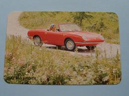 FIAT 850 SPIDER ( Editie - Uitgave België / Zie Foto Voor Details ) ! - Voitures