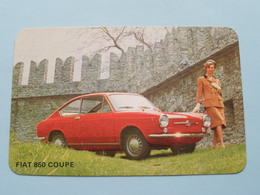 FIAT 850 COUPE ( Editie - Uitgave België / Zie Foto Voor Details ) ! - Voitures