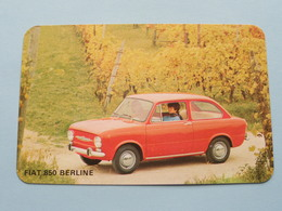 FIAT 850 BERLINE ( Editie - Uitgave België / Zie Foto Voor Details ) ! - Voitures