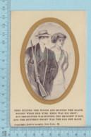 Carte Postale CPA -Le Chasseur Chassé- Used Voyagé En 1912 + CND Stamp, Send To Smith Mills Quebec - Cartes Postales