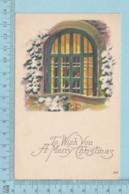Carte Postale CPA -Christmass- Used Voyagé En 1922 + USA Stamp, Send To Smith Mills Quebec - Noël