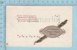 Carte Postale CPA -Christmas, - Used Voyagé En1916 + USA Stamp, Send To Appleton Maine - Noël