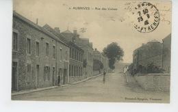 AUBRIVES - Rue Des Usines - France