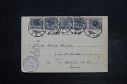ALLEMAGNE - Affranchissement Plaisant De Kayserberg Sur Carte Postale En 1900 Pour Menton - L 26532 - Covers & Documents