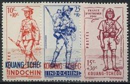 Kouang-Tchéou,  N° 135 à N° 137** Y Et T - Kouang-Tchéou (1906-1945)