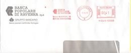 ITALIA - ITALY - ITALIE - 2002 - 00,41 EMA, Red Cancel - Banca Popolare Di Ravenna - Viaggiata Da Ravenna - Affrancature Meccaniche Rosse (EMA)
