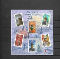 60  OBL Y & T  Personnages De La Littérature Française    26/44 - Sheetlets