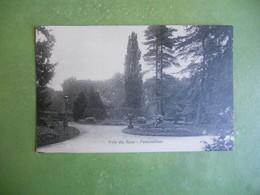 CPA AVON FONTAINEBLEAU VILLA DES ROSES  ECRITE 1934 PAR MARIE HIRTZEL  SUPERBE PAS COURANTE - Fontainebleau