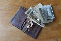Portefeuille D'un Poilu Ancien Combattant Photos Et Papiers - 1914-18