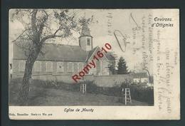 Environs D'Ottignies. L'Eglise De Mousty. Nels, Série 11, N°402. Circulé En 1901. Voir Dos. 2 Scans. - Ottignies-Louvain-la-Neuve