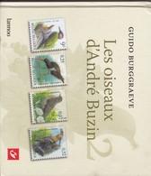 Belgique : LES OISEAUX D ANDRE BUZIN  Par Burgraeve 2005  79 Pages - Littérature