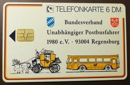 K 401 9.94  6 DM  Mint Voll   Postbusfahrer Regensburg  MB 0317   #TK9 - K-Series : Série Clients