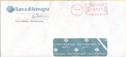 ITALIA - ITALY - ITALIE - 2002 - 00,41 EMA, Red Cancel - Banca Di Romagna - Viaggiata Da Faenza - Affrancature Meccaniche Rosse (EMA)
