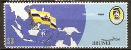 Brunei  1984   SG 346  Independence   Fine Used - Brunei (1984-...)