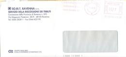 ITALIA - ITALY - ITALIE - 2002 - 00,77 EMA, Red Cancel - So.Ri.T. Ravenna - Viaggiata Da Ravenna - Affrancature Meccaniche Rosse (EMA)