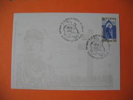 Enveloppe 1985 Charles De Gaulle Et La Croix De Lorraine - Cachet XV è Anniversaire De La Mort Du Général De Gaulle - De Gaulle (Generale)