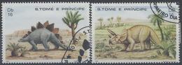 Saint Tome Et Prince : N° 696 Et 697 Oblitéré Année 1982 - Sao Tome Et Principe
