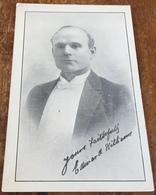 Vocalist ~ Edward Lawson Williams ~ Late Principal Tenor ~ Carl Rosa Opera Co. And Queens Hall. London - Opera