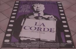 AFFICHE CINEMA FILM LA CORDE Alfred HITCHCOCK James STEWART Farley GRANGER Jouineau Bourduge - Affiches & Posters