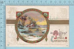 Carte Postale CPA -Christmas, - Used Voyagé En 1912 + CND Stamp, Send To Bury Quebec - Christmas
