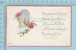 Carte Postale CPA -Christmas, - Used Voyagé En 1926 + USA Stamp, Send To N.Y. N.Y. - Noël