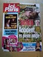 """Affiche """"ici Paris"""" N°3111  Jean-Pierre Castaldi ; Alexandre Anthony Et Sarah Marchall ; Sardou ; C. Jérome ; Renaud ... - Affiches"""