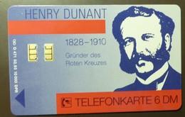O 471  02.93     6 DM  Mint Voll  Henry Dunant BRK Mittelfranken Red Cross      #TK13 - Allemagne