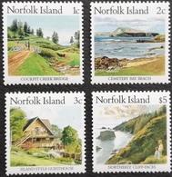 Norfolk Island 1987-88 Island Scenery LOT - Norfolk Island