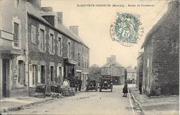 Saint Sauveur Lendelin -  Route De Coutances - Andere Gemeenten