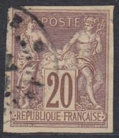 Colonies Générales - N° 34 (YT) N° 30 (AM) Type II Oblitéré. - Sage