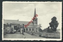"""Chaumont (Chaumont Gistoux) L'Eglise.  Edition Delhaize """" Le Lion"""". Circulé, 2 Scans. - Chaumont-Gistoux"""