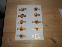 Sigarenbanden Derk De Vries Serie 155 - Bagues De Cigares
