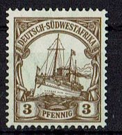 Deutsch-Südwestafrika 1906/1919 // Mi. 24 (*) - Kolonie: Deutsch-Südwestafrika