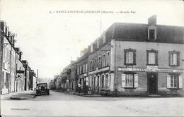 Saint Sauveur Lendelin - Grande Rue - Non Circulé - Andere Gemeenten