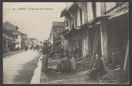 016 CARTE POSTALE INDOCHINE FRANCAISE - HANOI - Le Quartier Des Forgerons - Vietnam