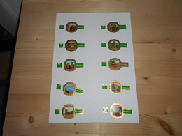 Sigarenbanden Derk De Vries Serie 194 - Bagues De Cigares