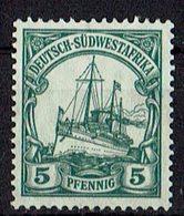 Deutsch-Südwestafrika 1906/1919 // Mi. 25 (*) - Colony: German South West Africa