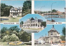 94. Gf. Souvenir De CHOISY-LE-ROI. 5 Vues. 246 - Choisy Le Roi