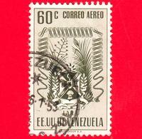 VENEZUELA - Usato - 1952 - Stemma Dello Stato Di Lara - Arms - 60 - P. Aerea - Venezuela