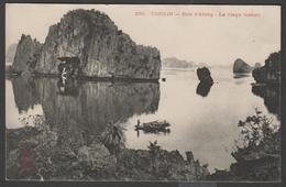 021 CARTE POSTALE INDOCHINE FRANCAISE - TONKIN - Baie D'Along, Le Vieux Manoir - Vietnam
