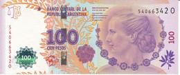 BILLETE DE ARGENTINA DE 100 PESOS DEL AÑO 2012 SERIE O CALIDAD EBC (XF)(BANKNOTE) DIFERENTES FIRMAS - Argentina