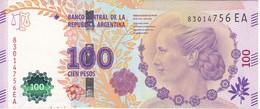 BILLETE DE ARGENTINA DE 100 PESOS DEL AÑO 2012 SERIE EA CALIDAD EBC (XF)(BANKNOTE) DIFERENTES FIRMAS - Argentina