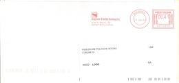 ITALIA - ITALY - ITALIE - 2002 - 00,41 EMA, Red Cancel - Regione Emilia-Romagna - Viaggiata Da Bologna Per Lugo - Affrancature Meccaniche Rosse (EMA)