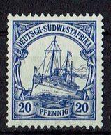 Deutsch-Südwestafrika 1906/1919 // Mi. 27 (*) - Kolonie: Deutsch-Südwestafrika