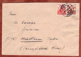 Brief, MiF Landschaften, Rueti Nach Muellheim 1947 (71640) - Switzerland