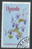 Uganda. 1969 Flowers. 1/50 Used. SG 141 - Uganda (1962-...)