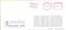 ITALIA - ITALY - ITALIE - 2002 - 00,41 EMA, Red Cancel - Comune Di Bologna - Viaggiata Da Bologna - Affrancature Meccaniche Rosse (EMA)