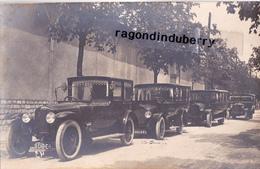 CPA PHOTO - 94 - SAINT-MAUR Des-FOSSES - ENTR COMMEINHES Construc Carrossier 21 Av Carnot - AUTOCAR, FIACRE,? - RARE - Taxis & Cabs